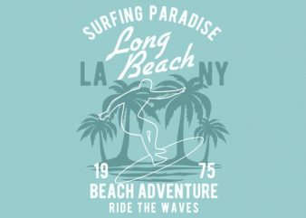 Beach Adventure t-shirt design