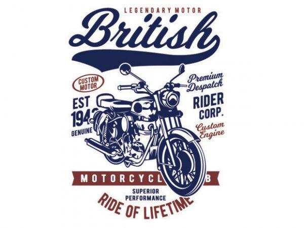 British Motorcycle BTD 1 600x450 - British Motorcycle buy t shirt design