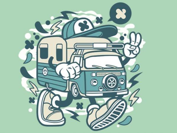 Camper Van Preview 600x450 - Camper Van buy t shirt design