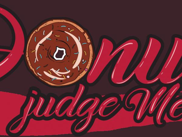 Donut judge me 1 600x450 - Donut judge me buy t shirt design