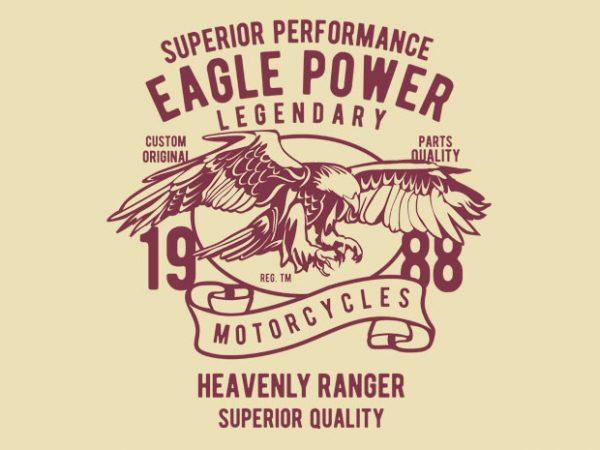 Eagle Power vector tshirt design