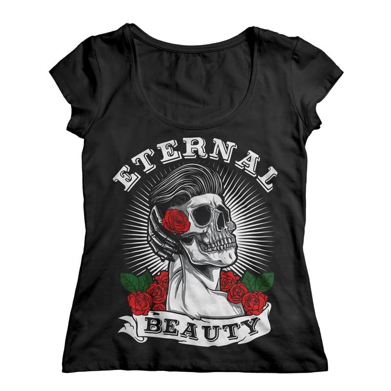 Eternal Beauty t shirt designs for sale