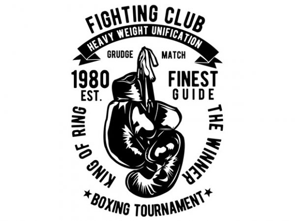 Fighting Club BTD 600x450 - Fighting Club buy t shirt design