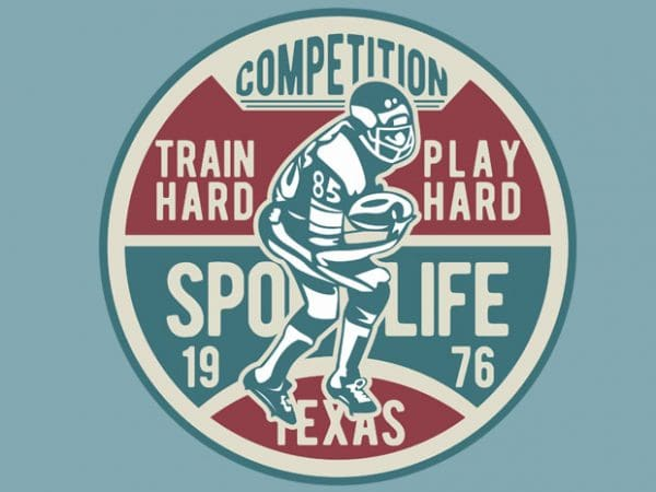 Football Competition t-shirt design
