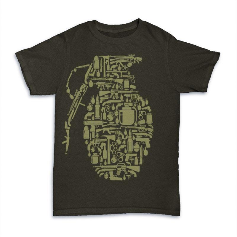 Grenade tshirt-factory.com