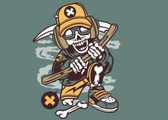 Hip Reaper graphic t shirt