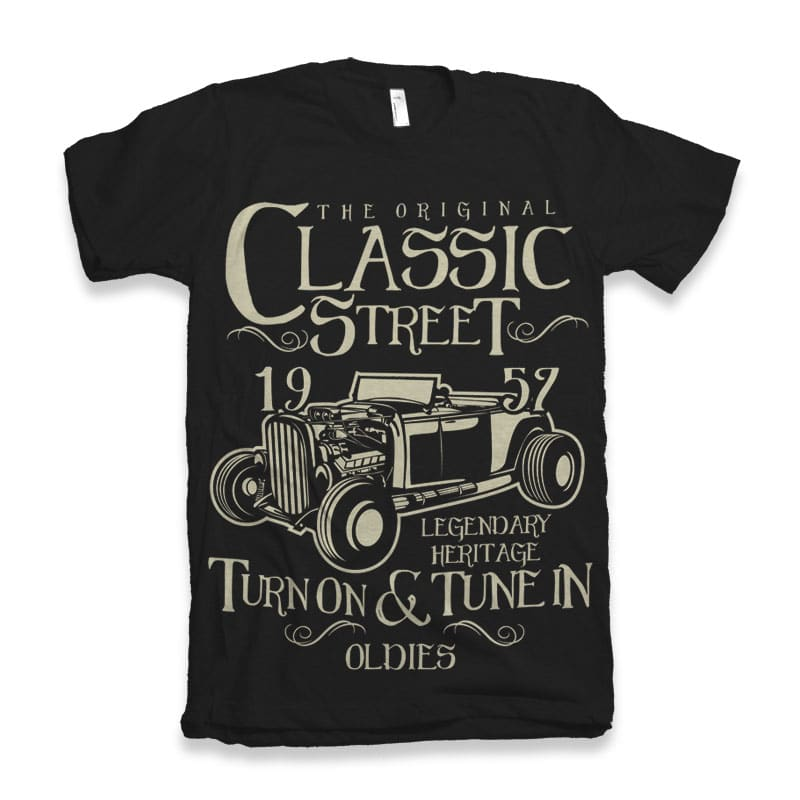 Hot Rod Classic buy tshirt design