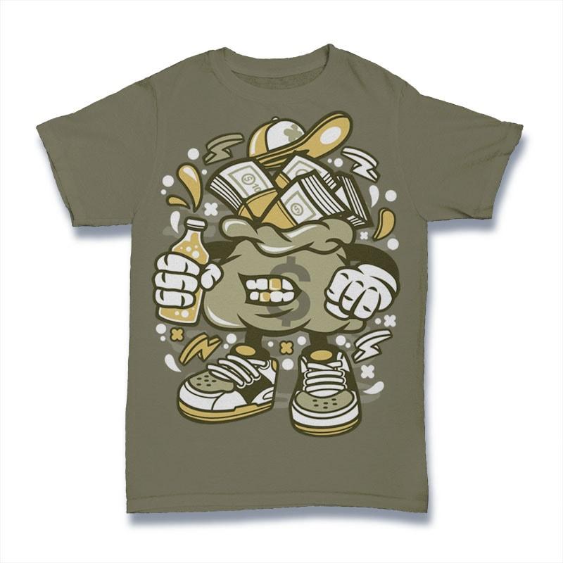 Money Bastard vector t shirt design