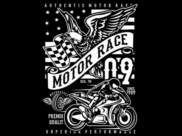 Motor Race 09 t shirt designs for sale