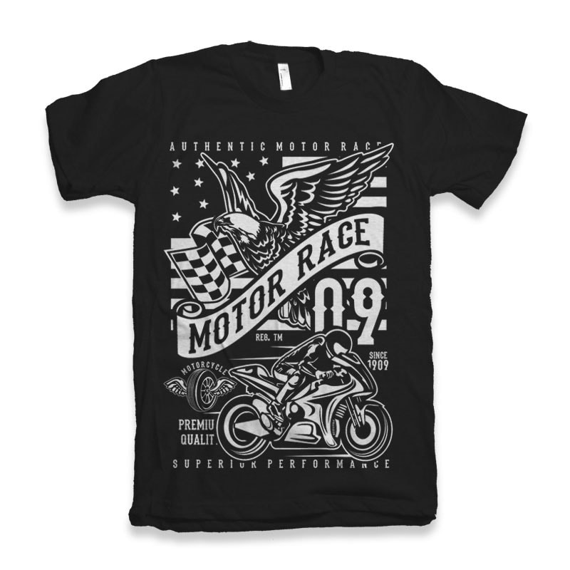 Motor Race 09 buy tshirt design