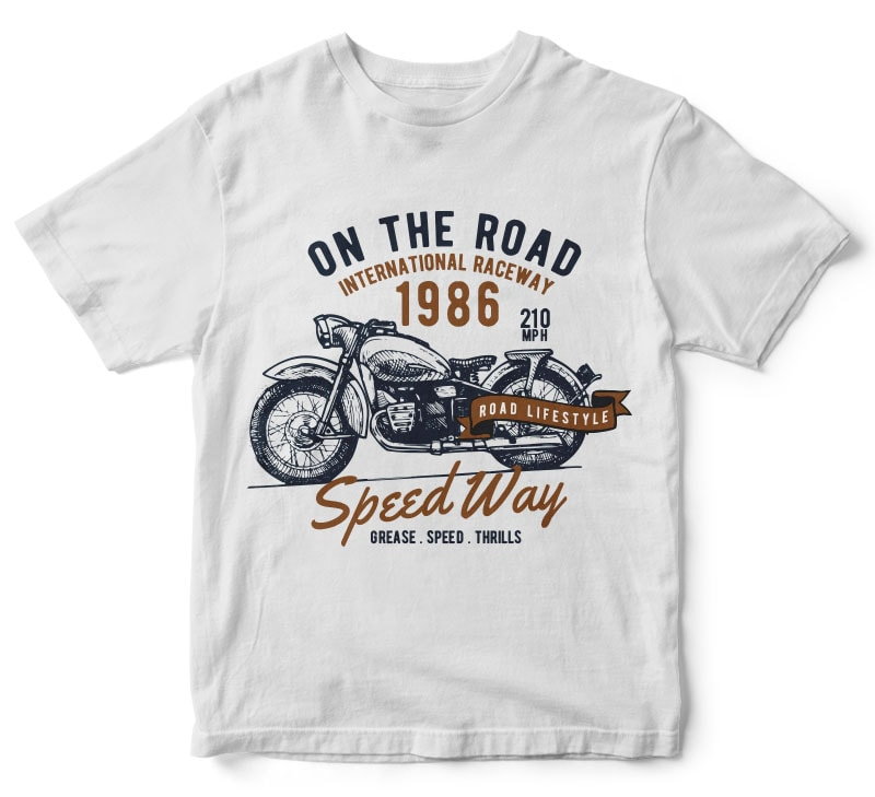 Motorcycle tshirt design buy t shirt designs Design t shirt online
