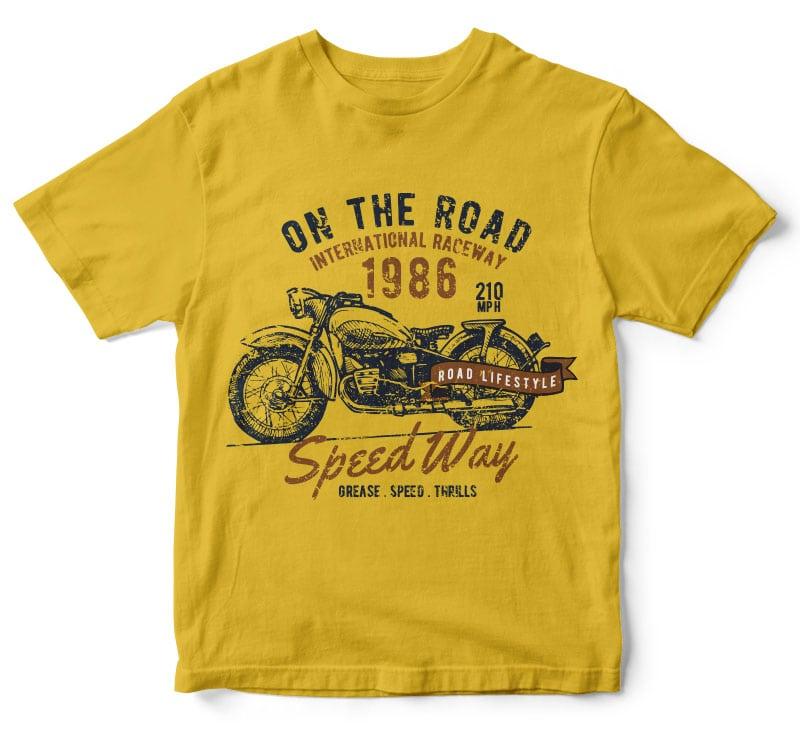 motorcycle tshirt design t shirt designs for printful