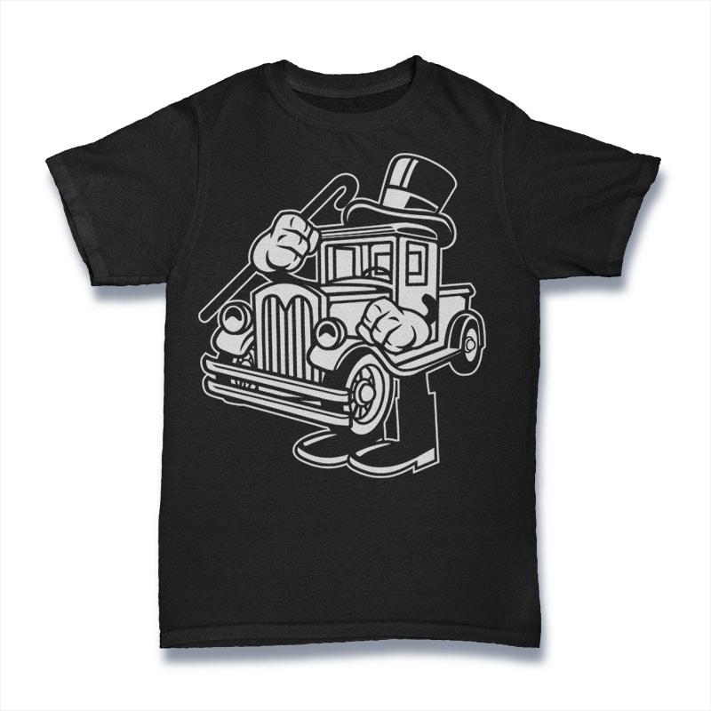 Old Truck vector t shirt design