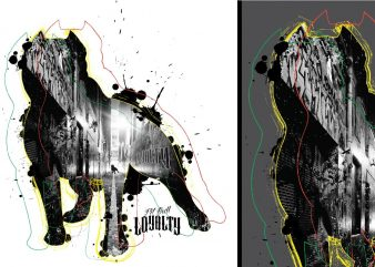 Pit Bull Loyalty Tshirt Design