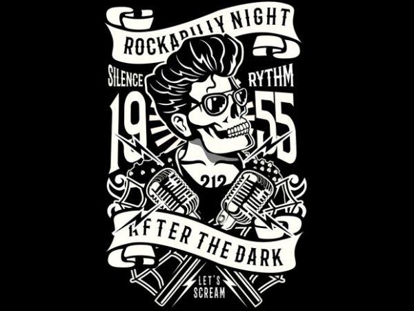 Rockabilly Night BTD 600x450 - Rockabilly Night buy t shirt design