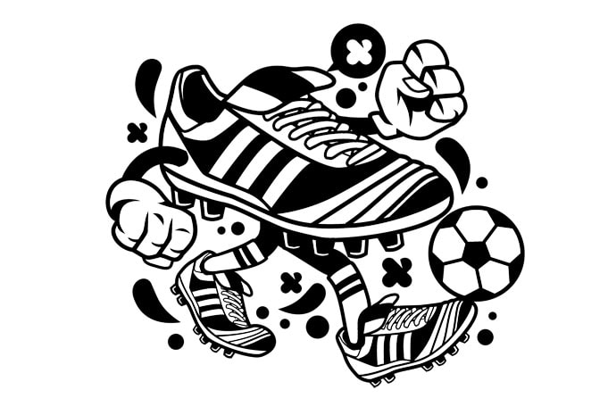 T Shirt Design Line Art : Soccer buy t shirt designs