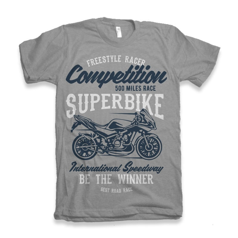 Superbike Competition buy t shirt designs artwork