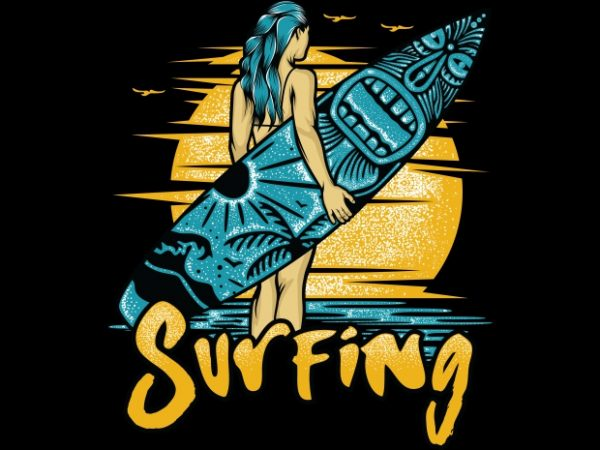 Surfing 600x450 - Surfing buy t shirt design