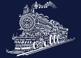 Train Song t shirt designs for sale