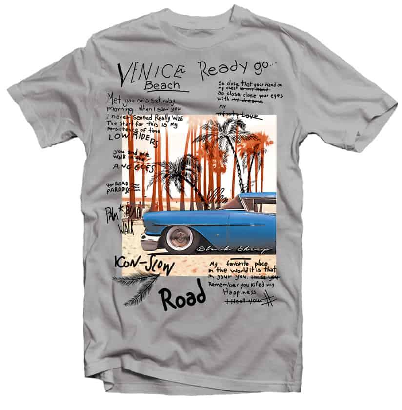 Classic Beach Venice buy t shirt designs artwork