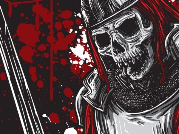 Victorius Glory – Skeleton Warrior t shirt vector art