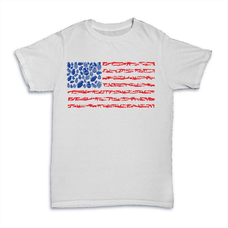 Weapon Flag buy tshirt design