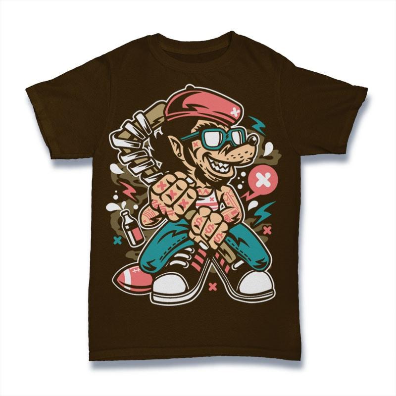 Wolf Gang buy t shirt designs artwork