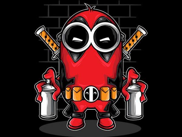 Spray It vector t-shirt design