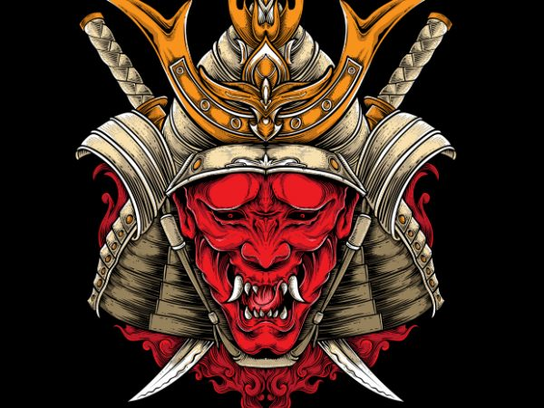 buy 7 600x450 - Oni Samurai buy t shirt design