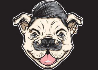 DOG buy t shirt design artwork