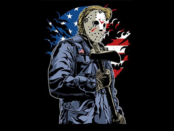 American Killer t shirt design 600x450 - American Killer T shirt design buy t shirt design