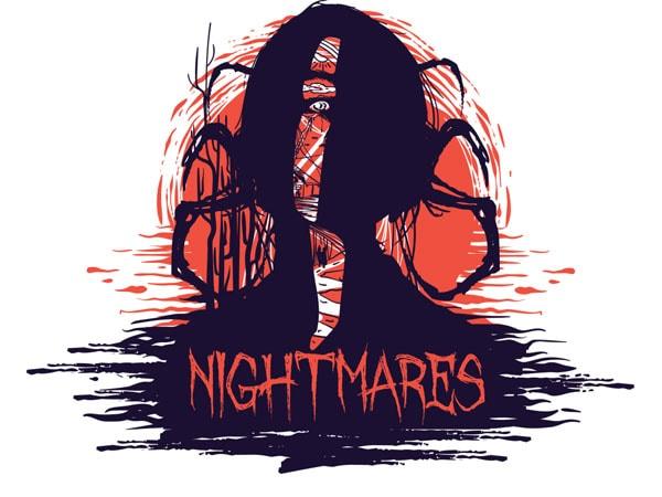 Nightmares buy t shirt design artwork