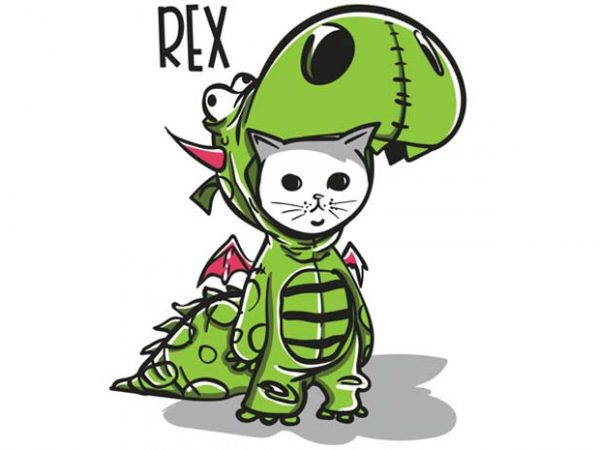 Purranysaurus rex buy t shirt design for commercial use