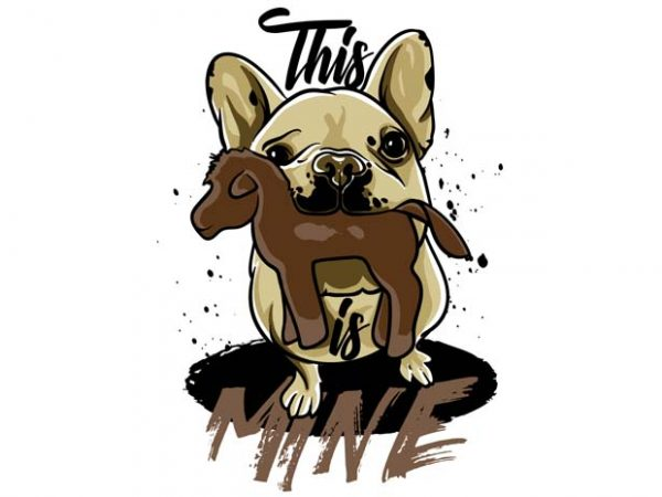 This is mine 2 t shirt designs for sale