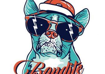 Bandite t shirt template