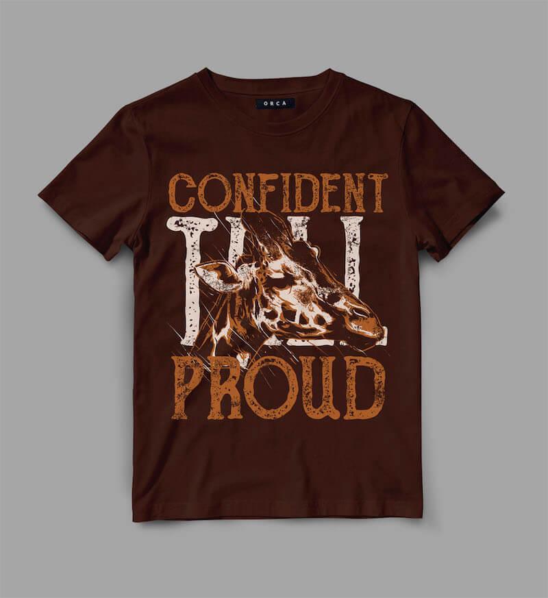 Animal t-shirt designs bundle