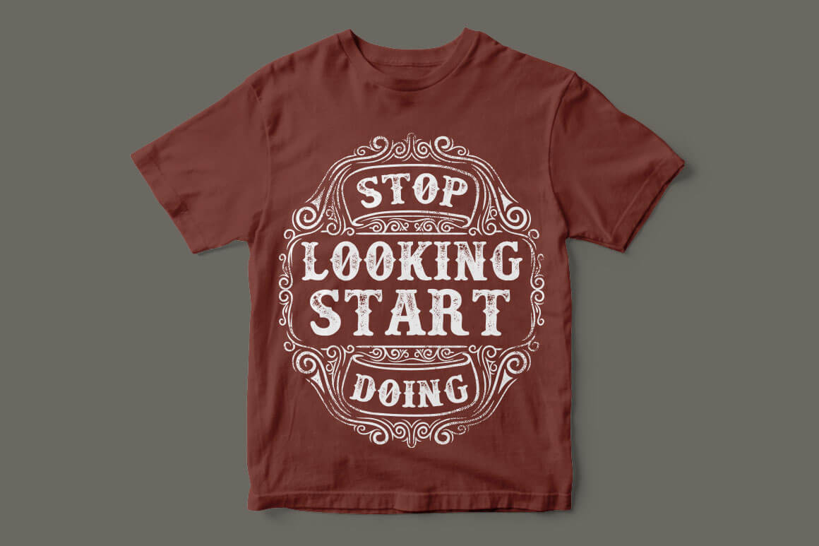 T-shirt design temaple