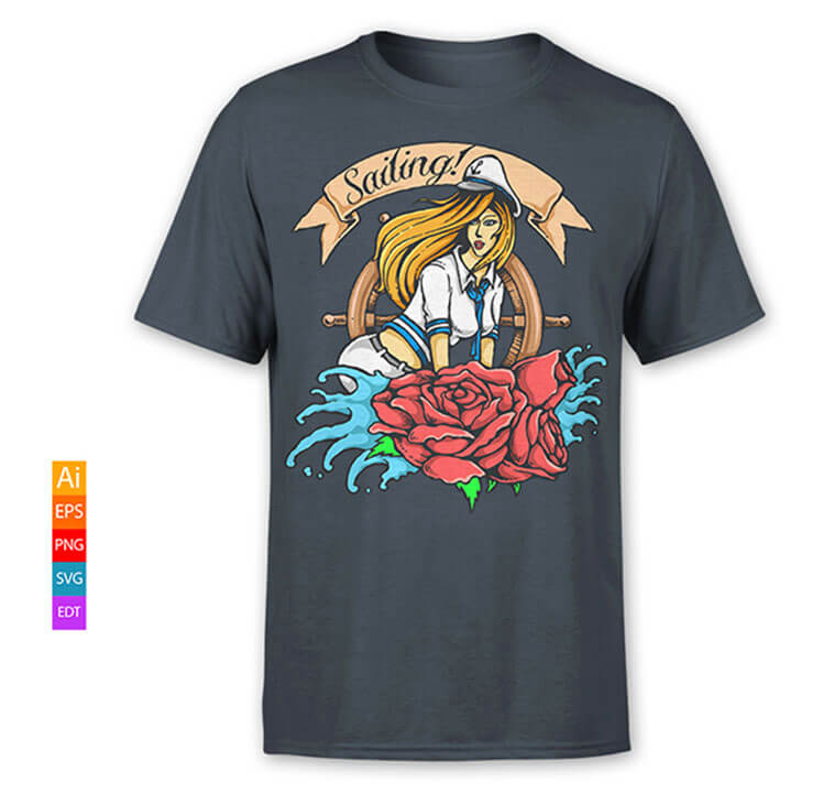 graphic t shirt design for sale