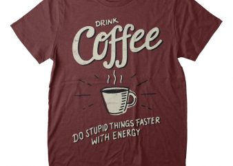Coffee t-shirt Png
