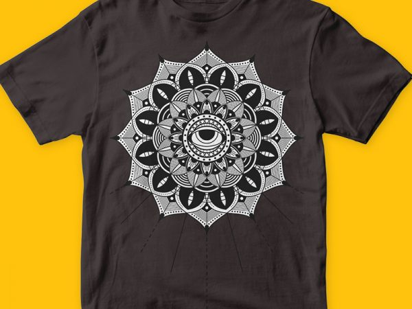 Dead Sun t-shirt design template