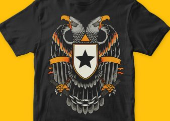Eagle buy t shirt design