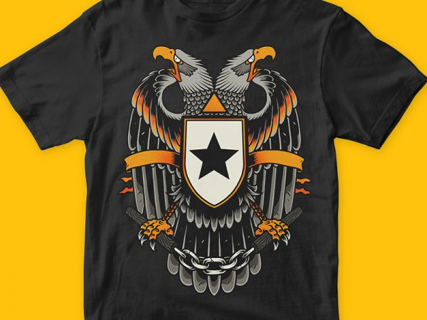 Eagle buy t shirt design