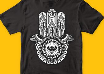 Hamsa buy t shirt design artwork