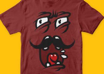 Mr Tee t-shirt design template