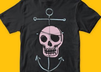 Pirate png t-shirt design