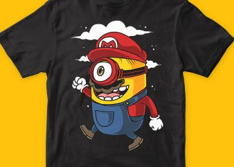 Super minion png t-shirt