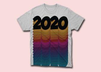 2020 , 2020 happy new year svg t shirt design