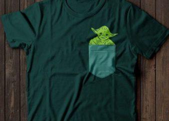 yoda star war tshirt design   baby yoda tshirt design