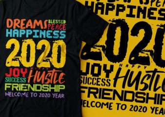 twenty twenty t shirt design | new year t-shirt designs