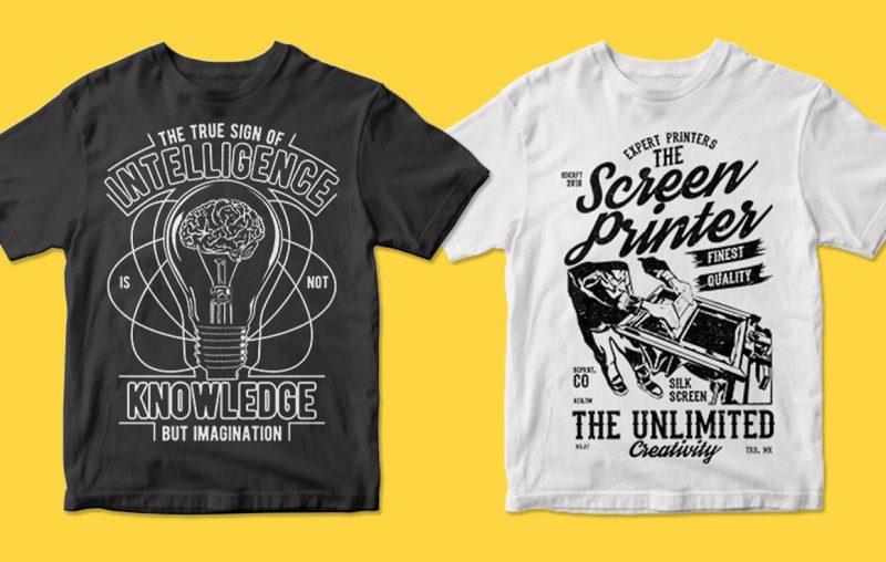 400 tshirt designs printful